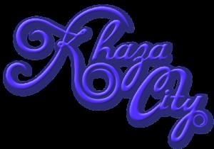 Khaza CityLogoBlue