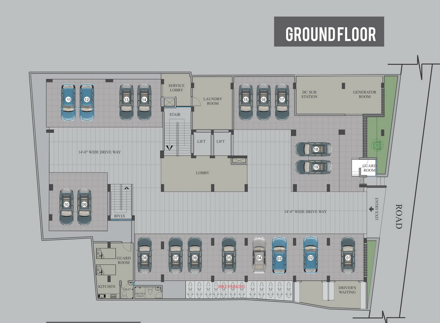 Ground Floor (Click For Details)
