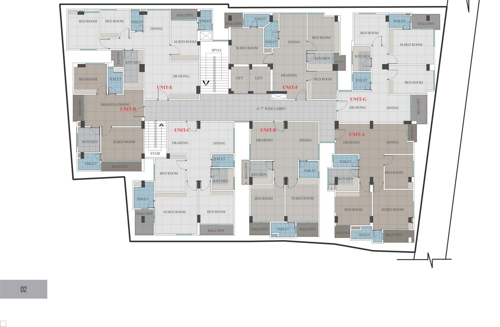 Floor Plans (Click for Details)